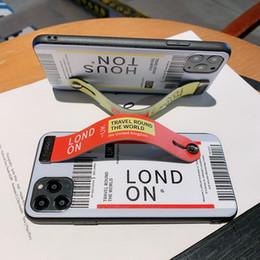 note wooden case Скидка Роскошный телефон крышка для iphone 11 про случай X Xs XR макс 6 7 8 плюс Kickstand Кожаного чехла дизайнера