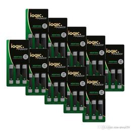 Freies verschiffen dhl ecig online-Heißer Verkauf 2019 NEUES 10 Stück / Lot ZERSTäUBER LOGIC Ecig LOGIC POWER-MINE 3X PREMIUM CARTRIDGES DHL-freies Verschiffen