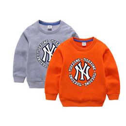 2019 marca de moda para niños sudaderas con capucha bebés niños sudaderas primavera y otoño de algodón niñas recién nacidas suéter de manga larga ropa para niños suéter desde fabricantes