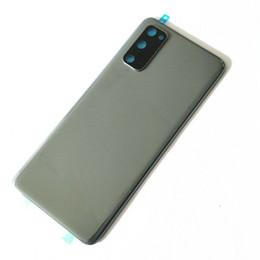 iphone 5c capa da habitação traseira Desconto Bateria Voltar vidro tampa da caixa para Samsung Galaxy S20 S20 S20 Ultra + Com Camera Lens e preattached Adhesive