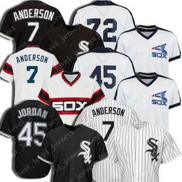 2019 jersey de béisbol de franela Custom Chicago Jersey Medias Blancas 7 Tim Anderson 10 Yoan Moncada Jersey 35 Frank Thomas 21 Todd Frazier Jersey 45 Michael Jerseys