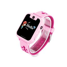 Orologio del cercatore di posizione di gps online-2019 Nuovo Smart Watch LBS Kid Watch Baby per bambini SOS Chiamata Location Finder Locator Anti perso GPS Monitor Box