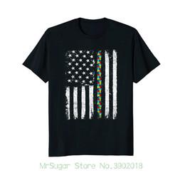 Bandiere puzzle online-Maglietta Autism Awareness Maglietta Autism Flag Maglietta Maglietta da uomo Maglietta da uomo