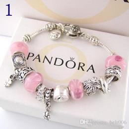 Mode Charme Armband 925 Silber Pandor Armbänder Für Frauen Lebensbaum Anhänger Bangle Charm Pandora Love Perle als Geschenk Diy Schmuck mit logo von Fabrikanten