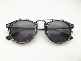 533fc176ffa Brand Design women men clip on sunglass vintage retro top quality optical  frame spectacle frame optical Clear prescription Lenses GU1967