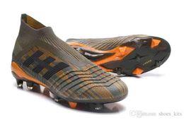 Predator New 18 18.1 FG Tacos de fútbol Chaussures Botas de fútbol Diseñador de hombre Zapatillas deportivas para hombre Zapatillas de deporte Zapatillas de deporte casuales desde fabricantes