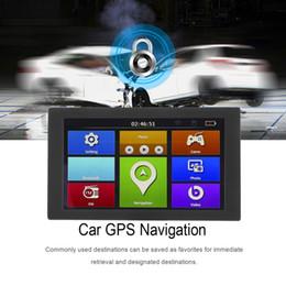 2019 camionnage gps 9 pouces S900 voiture camion HD navigation GPS 256M + 8 Go inversant caméra écran tactile FM Navigator position précise promotion camionnage gps