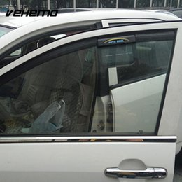 Car Styling Energ/ía solar Ventilador auto de ventana Ventilador de escape solar fresco ambiental L negro