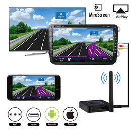Wifi av tv on-line-Q4 2.4G 5G Sem Fio HDMI Wifi Display AV RCA Mirascreen HDMI Air Car Auto Miracast Screen Espelhamento Dongle Tv Vara fluxo Elenco
