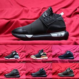 2019 New Y3 Suberou QASA RACER Hight Laufschuhe Turnschuhe Breathable Männer und Frauen Schuhe Paare Y3 Größe der laufenden Schuhe 36 44