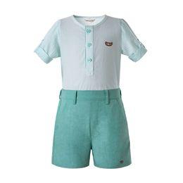 2019 bs-taste Pettigirl Mint Green Kleinkind Jungen Kleidung Langarm Kleidung Sets Weiß Einreihige Taste Kinder Designer Kleidung Jungen B-DMCS201-C140 günstig bs-taste