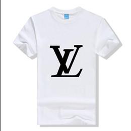 t-shirt dressing stil junge Rabatt 2019 männer frauen Kurzarm T-Shrits Mode Baumwolle T-shirt Männer Mode Designer Casual Active Sports Outwears Shirts Polo Tops DXLV