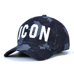 DSQICOND2 Hohe Qualität Marke Casquette Hut Solide Muster Hüte Buchstaben ICON Casquette Baseball Cap Hysteresenkappe für Mann Frau von Fabrikanten