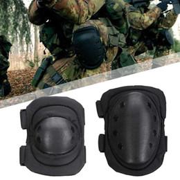 équipement de protection tactique Promotion 4 Pcs / lot Adulte Tactique Combat De Protection Pad Set Professional Gear Sports Genou Coude Protecteur Coude Genouillères Nouveau