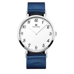 Marcas de relógio de pulso japonês on-line-Chegada nova amantes relógios de pulso movimento relógio de quartzo japonês moda Kevin Crescer KG marca relógios de pulso