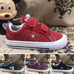 3e1570f4 2019 chicos zapatos elegantes Converse Niños Chicas Marca de moda  Zapatillas de deporte para niños Escuela