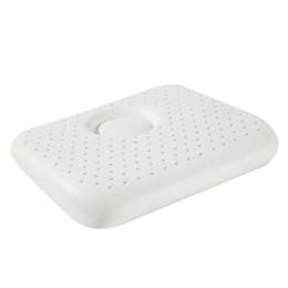 White pillows online-Purenlatex White Latex Cartoon Lion Natural Pure Baby Cojín de protección cervical Forma Correcta Latex Pillow