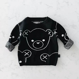 Mama Bear Boys Girls Pullover Sweaters Crewneck Sweatshirts Clothes for 2-6 Years Old Children