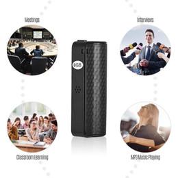 Ditofono nascosto online-Audio Registratore vocale Q70 8GB 16GB 32GB Mini nascosto registrazione Audio Voice Recorder magnetica professionale denoise Digital HD dittafono