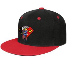 2019 criando roupas para crianças Cyborg superman 2 logotipo mens e womens plana aba chapéus Red snapback designer kids chapéus esportes faz seu próprio costume seu próprio elegante bonito u criando roupas para crianças barato