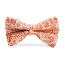 Laço alaranjado dos miúdos on-line-Oi-Tie Crianças Bowtie Gentleman Boy's Laranja Floral Laços Moda Bowknot Kid Vestuário Acessórios Cravat LH-063