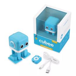 Jouets contrôlés par app en Ligne-Cubee Robot Intelligent Danse Robot F9 jouet Électronique marche Jouets App contrôle Robot Cadeau Pour Enfants Éducation Jouet DHL gratuit