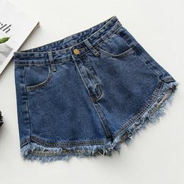 2019 mädchen tragen lässige jeans Neue Bodybuilding-Jeans in Bonbonfarben für Mädchen mit sommerlichem Fransenhaar. Casual Daily Wear rabatt mädchen tragen lässige jeans