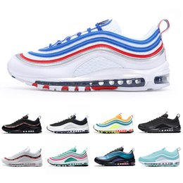 nike air max 97 Fashion Luxury NEON SEOUL Femmes Hommes Running Shoes designer chaussures Gym Red Mustard LONDRES ÉTÉ DE L AMOUR South Beach Silver