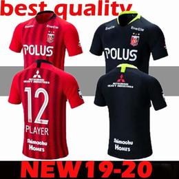 Uniformes du japon rouge en Ligne-Urawa maillot losange rouge 19-20 Japon J League Osaka chandail rose cerise impopulaire uniforme de l'équipe de football thaï
