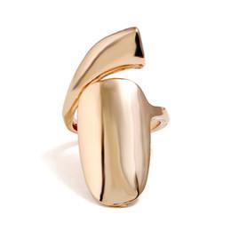 2019 длинные металлические гвозди Новая мода Золотой цвет металла ретро гот панк стиль преувеличены длинные совместные ногтей хвост кольцо для мужчин и женщин подарок дешево длинные металлические гвозди