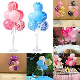 2019 becherhalter Kunststoffballon zubehör basis tisch unterstützung halter cup stick stand party decor günstig becherhalter