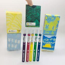 Kartuschenspitze e online-Moonrock E-Zigarette Kits Wiederaufladbare 350mAh Vape Akku 0,8 ml 1,0 ml 510 Carts Press-in leeren Tipps Öltankpatrone Verpackung