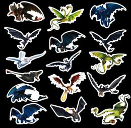Argentina 42 unids / set Graffiti Sticker Personalidad Cómo entrenar a tu dragón 3 Equipaje DIY pegatinas cartoon PVC Wall bag niños juguetes Suministro