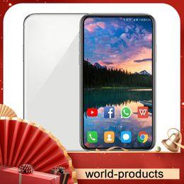 smartphone en acier inoxydable Promotion GooPhone Android 11 11p Max 5.8inch 6.1inch 6.5inch pro 64bit 3 caméras Face ID 1 Go / 16 Go 3G WCDMA Afficher 4G LTE Smartphone DEBLOQUE sbloccato