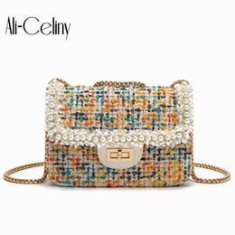 Pano de palhaço on-line-Mini saco feminino 2019 coreano moda pano de lã saco de ombro mensageiro cadeia coringa pequeno quadrado