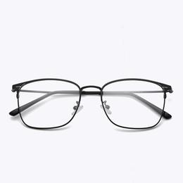 c93c81ee1b metal frames for eyeglasses 2019 - Cubojue Eyeglasses Frame Men Metal Alloy  Glasses Man Prescription Spectacles