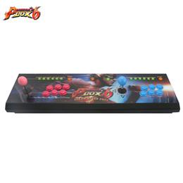 2019 joystick jogos de luta Mais novo Pandora Box 6 2 jogadores All-metal Box Arcade Fighting Game Joystick com 6 core CPU 1300 em 1 jogos 8 maneiras joysticks
