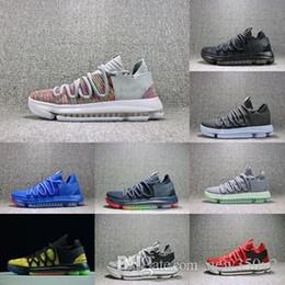 5d72c83e7583 2018 Hot Sale New Color Zoom KD 10 Kevin Durant Blinders PE Mens Men Women Basketball  Running Designer Luxury Shoes Sneakers 40-46