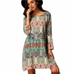 Più retro modello di formato online-Donne vento femminile vestement femme dress plus size xxxl modello unico abito retrò di alta qualità ropa mujer vestido curto # 48