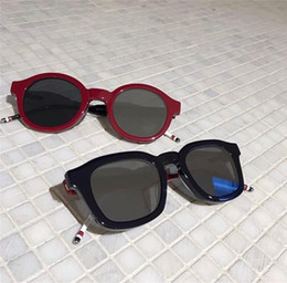 ef850fe4f82ce retro round glasses clear Rebajas Lujo Popular Gafas de sol de diseñador  S411-47 Personalidad