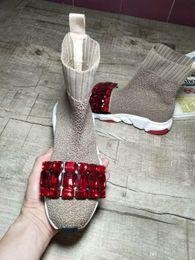bequeme hohe winterstiefel Rabatt Heiße Verkaufs-runde Zehe Frau Popular Stiefelette Frau starke untere Qualitäts-Mischfarbe Komfortable Ankle Boots Big Size 35-40 Freies Verschiffen