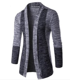 2020 häkelpullover für männer Mode Herren-Strickjacke neue Kleider 2019 Distressed Sweater Lässige Voll Cardigan Herren Strick Crochet locker und bequem rabatt häkelpullover für männer