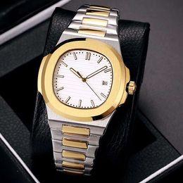 Canada Best-seller de luxe nouvelle montre automatique des hommes de Nautilus 40mm en acier inoxydable super étanche 5711 montre de mode d'affaires Offre