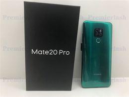 16gb 3g разблокированный goophone онлайн-Goophone Mate 20 Pro 2 ГБ оперативной памяти 16 ГБ rom Android-смартфон с коробкой 3G WCDMA разблокированный телефон Показать поддельные 4G LTE