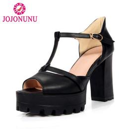 Commercio all ingrosso taglia 32-43 sexy lady tacco alto sandali scarpe  estive donne peep toe t strap tacchi alti pompe party club ol calzature a  prezzi ... 256874afc26