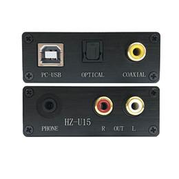 Deutschland PC Notebook USB externe HiFi Soundkarte DAC Decoder Synchronausgang Glasfaser Koaxial Digitales Signal und Analoges Audiosignal und Kopfhörer Versorgung