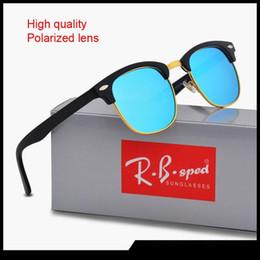 lunettes de soleil lentilles réfléchissantes Promotion Marque designer Lunettes de soleil polarisées Sport réfléchissant Protection UV Verres polaroid Designer de mode Lunettes de soleil vintage avec étui et boîte