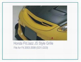 Griglia per Honda Fit Jazz 2003-2008 GD1 GD3 Griglia Fibra di vetro Griglia non verniciata da