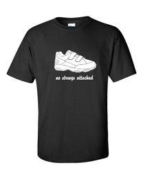 Нет строки прилагается Stringless тренажерный зал обуви фильм Музыка смешные мужская футболка 629 футболка мужская мужская Хабар пользовательские с коротким рукавом Валентина большой СИЗ от