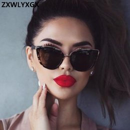 237a99934ac2 ZXWLYXGX Cat eye Sunglasses Women Brand Designer Vintage Gradient Glasses  Sexy Retro Cateye Sun glasses Eyewear UV400 sexy sunglasses wholesalers on  sale